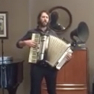 STAGE TUBE: Josh Groban Plays Accordion in Rehearsal for 'GREAT COMET' Opening Number