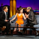 VIDEO: Anna Kendrick & Jeff Goldblum Visit LATE LATE SHOW