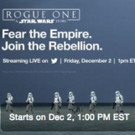 Twitter Announces Live Streaming Event for ROGUE ONE: A STAR WARS STORY