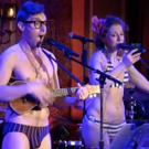 VIDEO: AMELIE and WAR PAINT Get Feedback When The Skivvies Improv a Song from Audience Member's Text Messages
