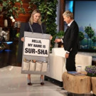 PHOTO: ELLEN Wants Us All to Say Saoirse Ronan's Name Correctly!
