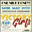 KPOE to Host VICTORY GIRLS Fundraiser at Cherry Lane