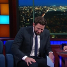 VIDEO: Eww! Stephen & John Krasinski Have Fake Vomit-Off on LATE SHOW