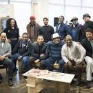 Photo Flash: John Legend Stops by JITNEY Rehearsal at MTC