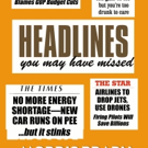 Morris Brady Announces New eBook, HEADLINES YOU MAY HAVE MISSED