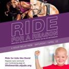 Ride For A Reason During Benefits St. Jude Children's Hospital, 4/22