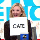 VIDEO: THE PRESENT's Cate Blanchett & Richard Roxburgh Play 'Who's Who' on GMA
