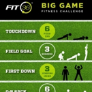 FIT36 Launches BIG GAME FITNESS CHALLENGE on Super Bowl Sunday
