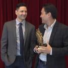 BWW TV: ALLEGIANCE's Darren Lee Accepts Broadway's Backbone Best Musical Ensemble Award!