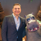 Photo Flash: David Walliams Visits the Set of THE FIRST HIPPO ON THE MOON