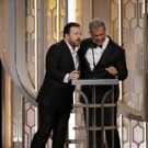 Ricky Gervais Said WHAT to Mel Gibson at GOLDEN GLOBES?!!