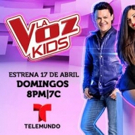 Telemundo's LA VOZ KIDS Set for Exciting Final Phase