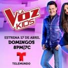 Telemundo's LA VOZ KIDS Set for Exciting Final Phase