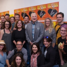 Photo Flash: Drew Carey Visits 'GENTLEMAN'S GUIDE' at 5th Avenue Theatre