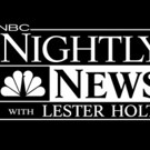 NBC NIGHTLY NEWS Draws Biggest Total Viewer Audience in Over a Year