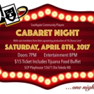 Southgate Community Players to Host CABARET NIGHT to Support A CHORUS LINE
