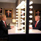 VIDEO: Donald Trump Interviews Himself in the Mirror on TONIGHT