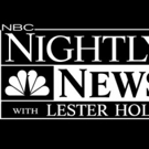 NBC NIGHTLY NEWS WITH LESTER HOLT Wins Across the Board for July Sweep