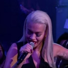 VIDEO: Rita Ora Sings Catchy Headlines; Performs 'Body On Me' on KIMMEL