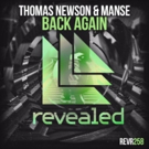 Thomas Newson & Manse Collaborate on Massive 'Back Again' Track