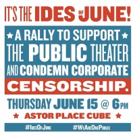 It's the Ides of June! Inside Yesterday's Rally in Support of  of Public Theater's JULIUS CAESAR