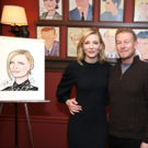 Photo Coverage: THE PRESENT's Cate Blanchett and Richard Roxburgh Unveil Portraits at Sardi's!