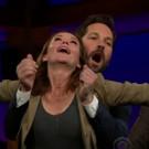 VIDEO: Diane Lane & Paul Rudd Recreate 'Titanic' on LATE LATE SHOW