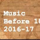 Music Before 1800's Announces 2016-17 Season at Corpus Christi Church