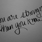 Fitness Tip of the Day: You Are Stronger Than You Know