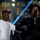 VIDEO: Wiz Khalifa ft. Fall Out Boy Perform 'Stayin' Out All Night' on CORDEN
