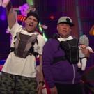 VIDEO: James Corden, Ashton Kutcher & Danny Masterson Perform Their New Boy Band Hit 'I'm A Dad'