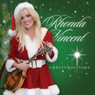 Rhonda Vincent Releases New Album 'Christmas Time' Today