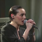 VIDEO: London Rockers Savages Perform 'Adore' on LATE SHOW