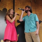 STAGE TUBE: Laura Osnes and Max Crumm Reunite for a GREASE Duet at #Ham4Ham