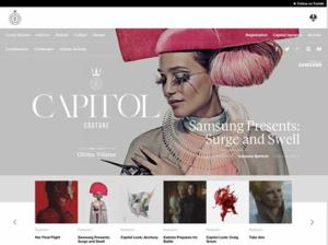 Final Issue of THE HUNGER GAMES In-World Fashion Magazine 'Capitol Couture' Out Now
