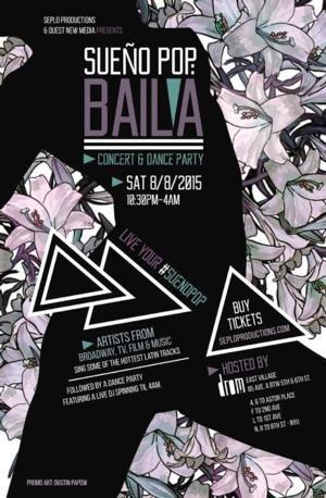 Take a Tour of Latin America with SUENO POP: BAILA at DROM, 8/8