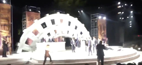 UPDATED Video: Protesters Interrupt Public Theater's JULIUS CAESAR on Friday