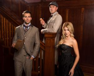 James Maslow & Renne Olstead to Join David Arquette in SHERLOCK HOLMES Tour; Full Cast Set!