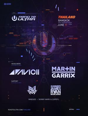 Avicii & Martin Garrix Head to Bangkok for Road to Ultra Thailand
