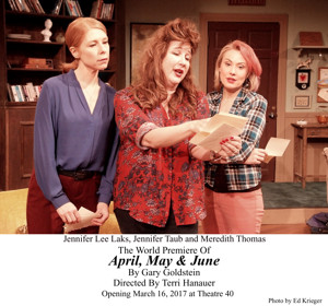 BWW Review: APRIL, MAY & JUNE Examines if Sisters Can Unite After a Family Secret is Revealed