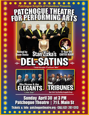 The Del-Satins Are Coming Soon to Patchogue Theatre