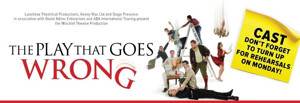 BWW REVIEW: Fabulously Funny, Particularly for Anyone Who Has Been Involved In Amateur Theatre, THE PLAY THAT GOES WRONG Is So Right For Family Fun