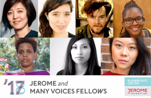 Playwrights' Center Announces 2017-18 Jerome & Many Voices Fellows