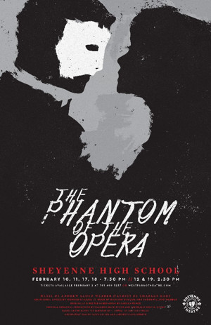 Sheyenne Theatre Presents THE PHANTOM OF THE OPERA