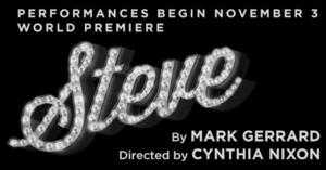 The New Group's STEVE, Directed by Cynthia Nixon, Opens Tonight Off-Broadway