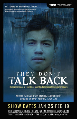 Perseverance Opens World Premiere of THEY DON'T TALK BACK