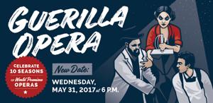 Guerilla Opera Announces 10th Anniversary Concert in OBERON, 5/31