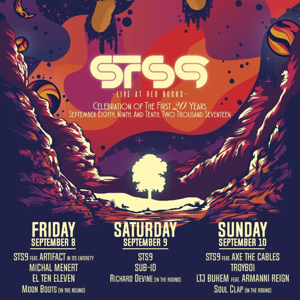 STS9 To Kick Off 20th Anniversary Celebrations with Three-Night Stand At Red Rocks Amphitheatre