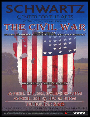 THE CIVIL WAR Musical to Run at Schwartz Center in Dover This Month