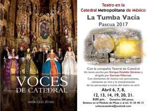 Nueva voz en la COMPAÑIA TEATRAL DE CATEDRAL